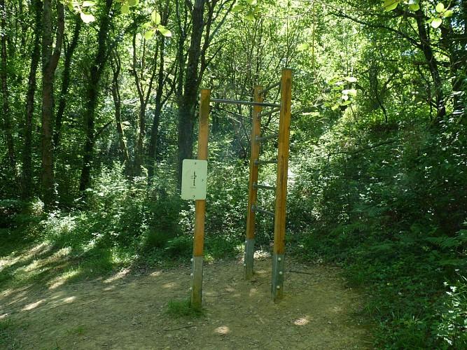 Parcours de santé lac de Serres-Castet