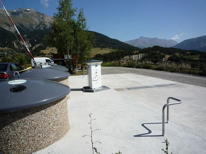 Euro relais - Service area for camper