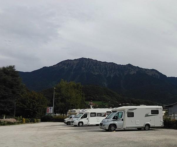 Aire de service - Accueil de camping-car