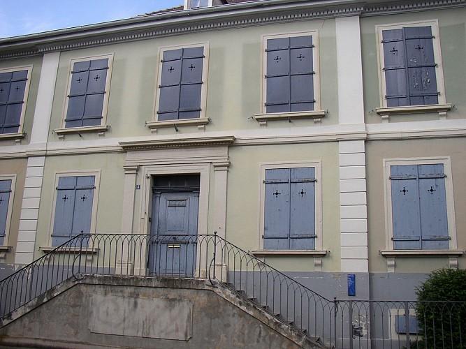Paul Curie's house