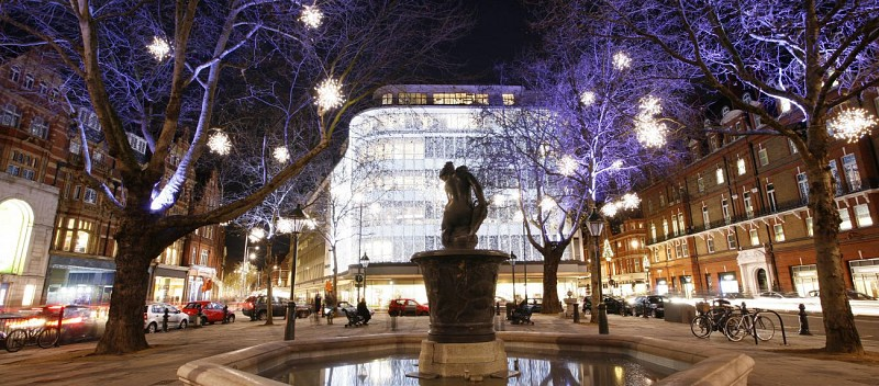 Tour nocturno de Londres en Navidad