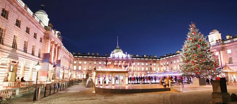Tour di Londra tra le illuminazioni natalizie, cena e messa di Natale