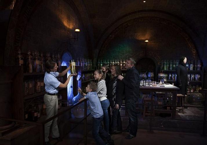 Studios Harry Potter à Londres - départ King's Cross St Pancras
