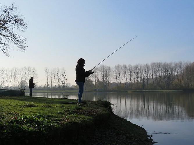 Pêcheurs aux Rouanneraies