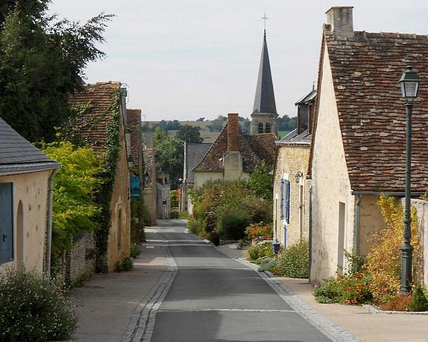 Rue-de-l'église-Maigné