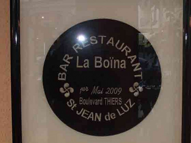 Bar restaurant La Boïna