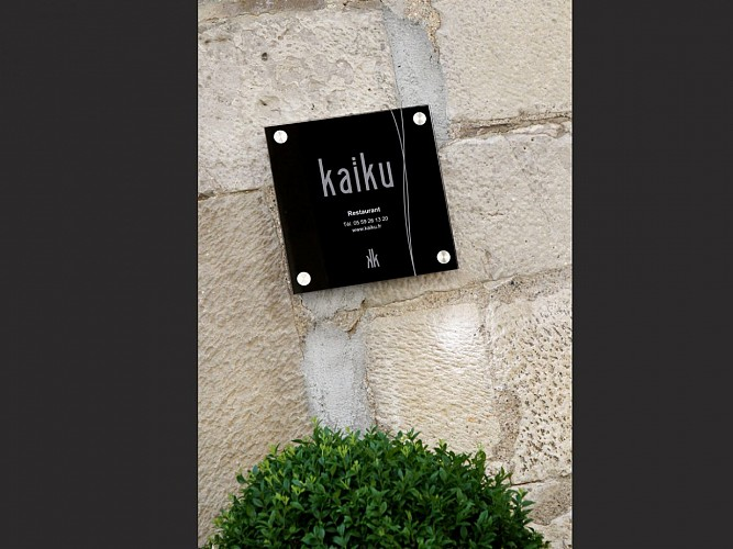 Le Kaiku 1* au guide Michelin