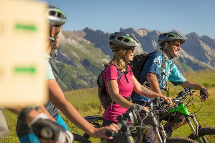 Mountain biking: private sessions
