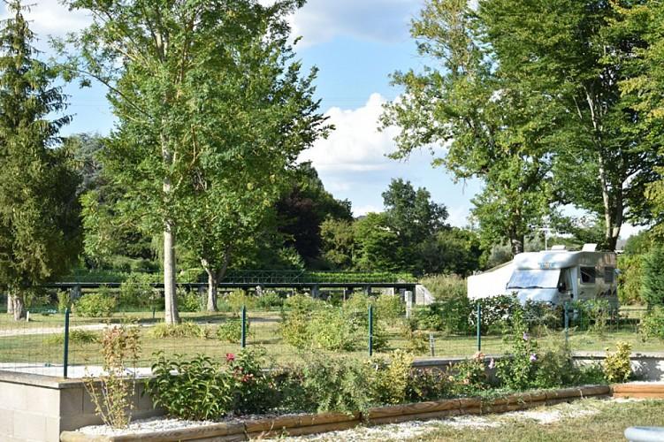 Ouzouer sur Trézée - aire de camping car -1er août 2018 - OT Terres de Loire et Canaux - IRémy (59)