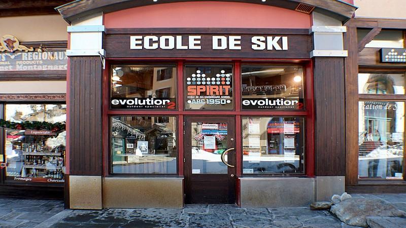 Ecole de ski et d'aventure EVOLUTION2 Arc 1950