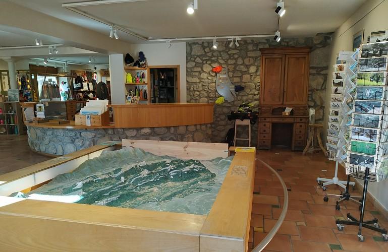 Coeur de Chartreuse Tourist Information center at Saint Pierre d'Entremont