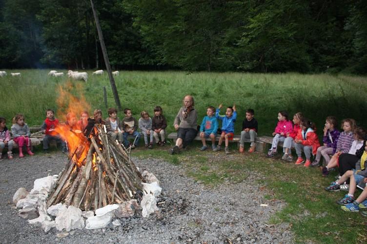 Le yayla de Rochebrune, petit village de yourtes par Montagnes Nature et Hommes