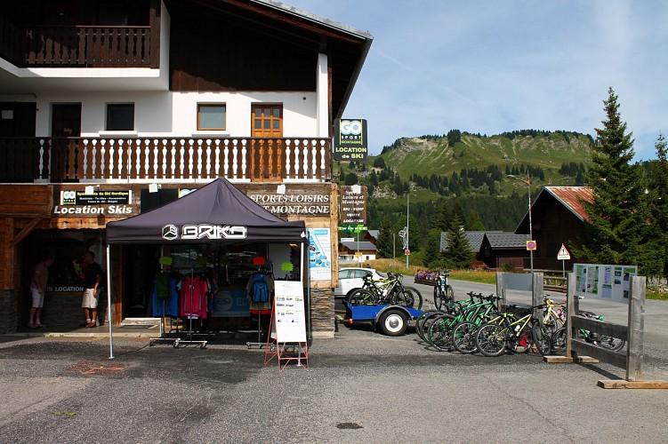 Mountain bike and bike rent - GO SPORT Praz de Lys