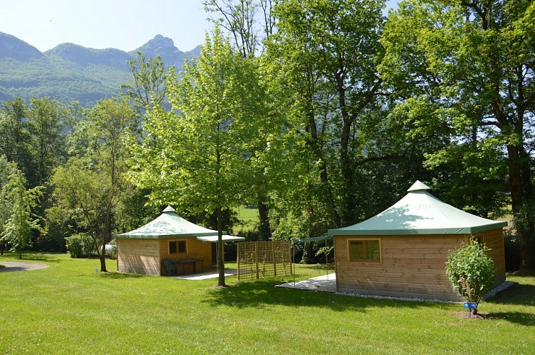 Quirky accommodation - Camping des Lacs