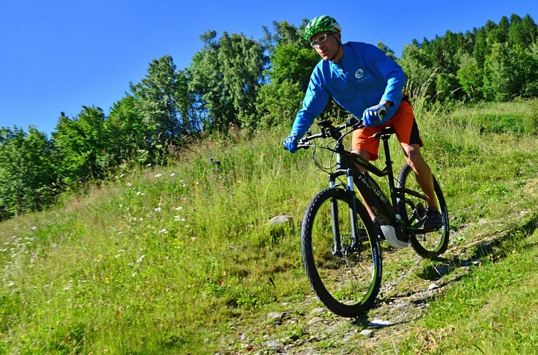 Huur uw elektrische mountainbike