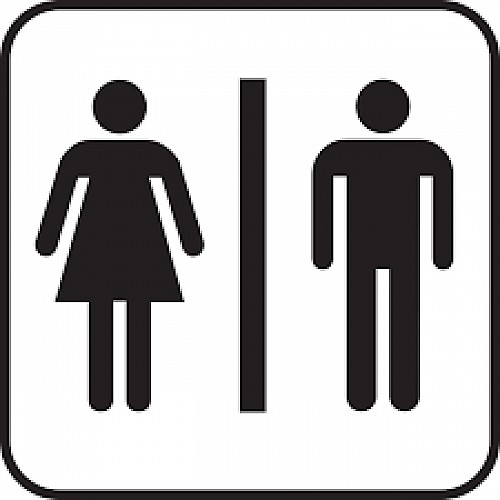 Openbare toiletten - Tennisterrein van Macot