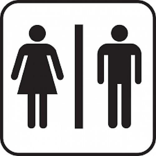 """Public toilets next to """"la Fruitière"""" dairy - La Côte d'Aime"""