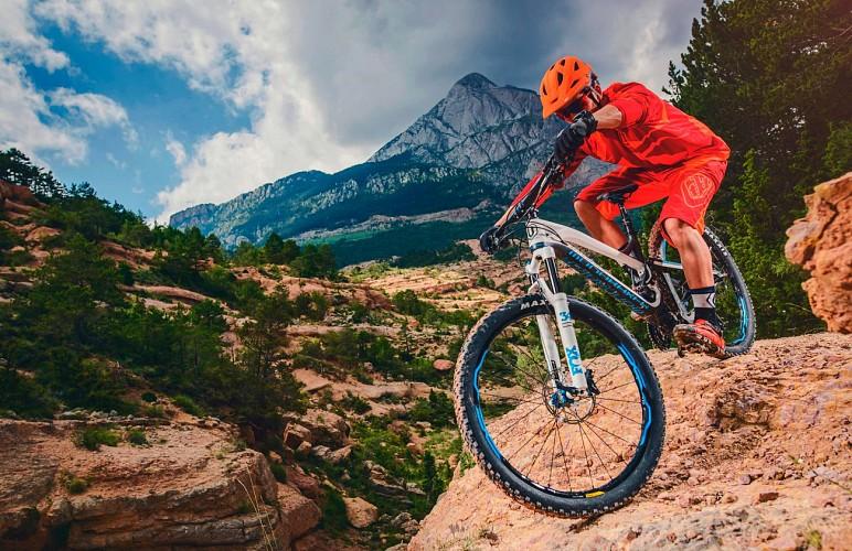 Rental MTB Electric Bike e-Bike - X'Trême Glisses