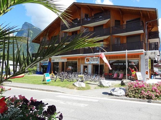 Location de VTT / Vélo électrique e-Bike - X'Trême Glisses