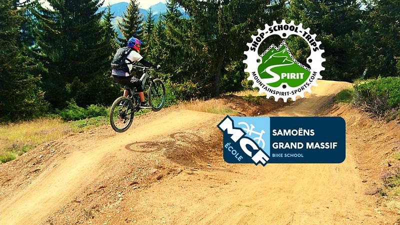 Downhill-mountainbikecursus - MCF Grand Massif-school