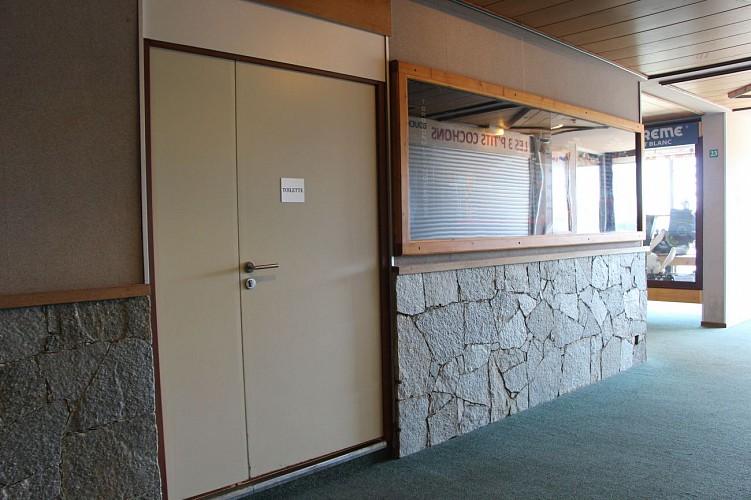 Openbare toiletten - Galerij Plagne Aime 2000