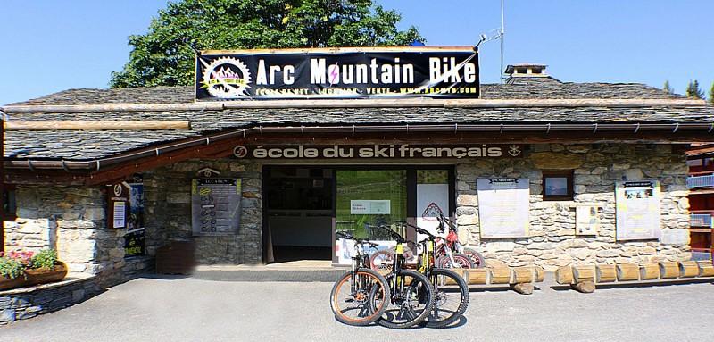 Arc Mountain bike - location