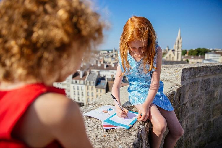 """Rallyes découverte """"Caen, de la tête aux pieds"""" - Parcours enfants"""