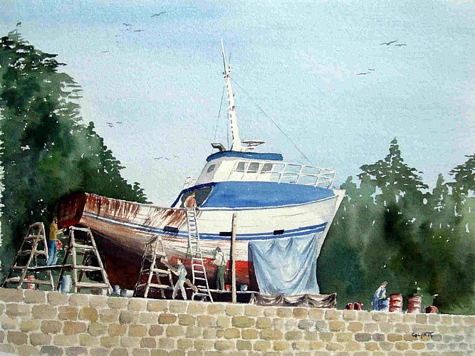 Christian Colin - Stages aquarelle