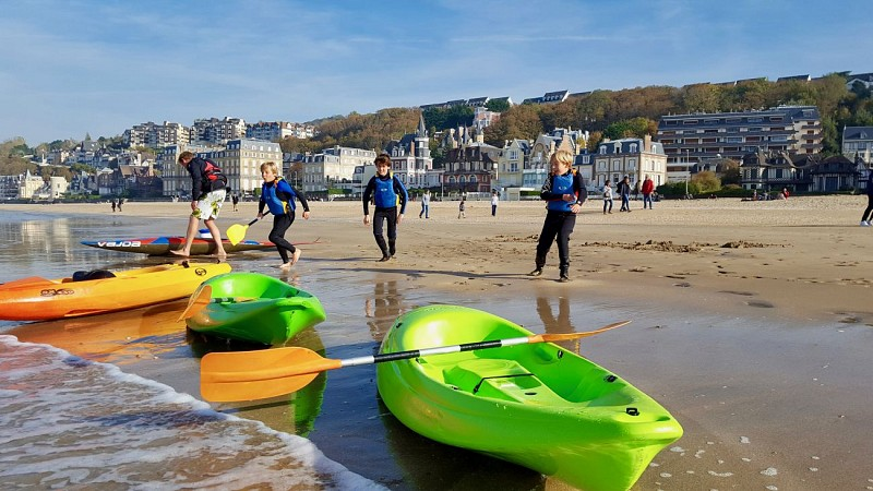 Kayak courses with Concept Sport Emotion