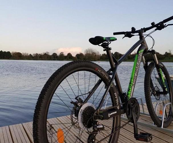 Location de VTT - vélos à la Base de loisirs de la Dathée