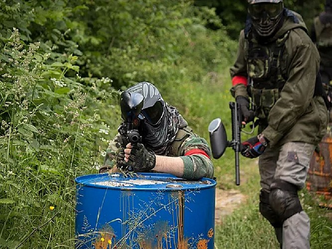 West Adventure - Paintball bos