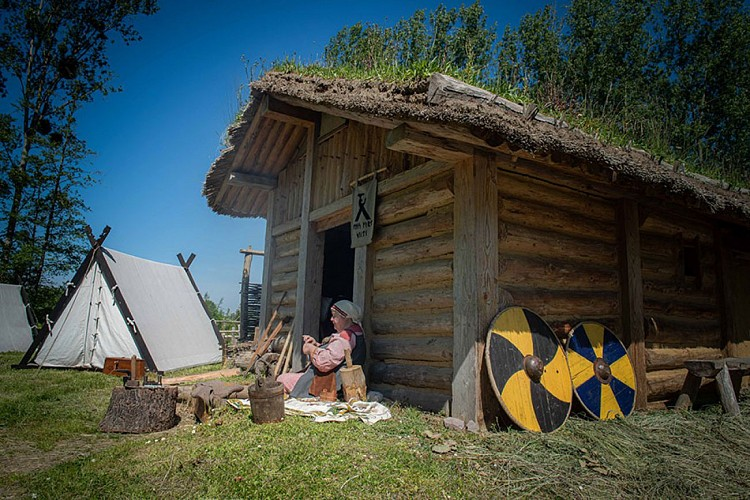 Guided tour of Ornavik Historical Park
