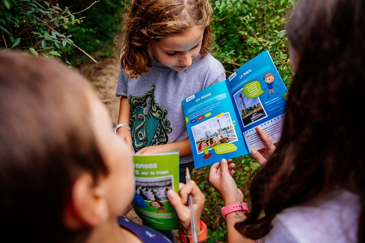 Games booklets for children - Discovering Ouistreham
