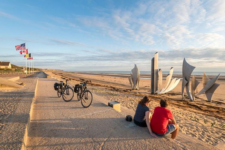Location de vélos / station VEL'OMAHA EOLIA : Saint Laurent-sur-Mer