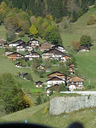Het dorp Boudin