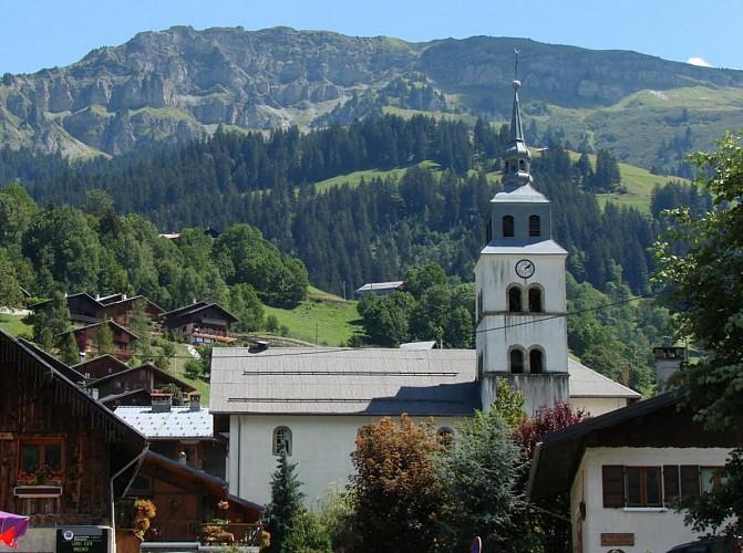 The Arêches Church