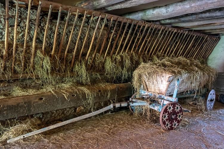 Clos Parchet boerderijen Eco - museumbezoek