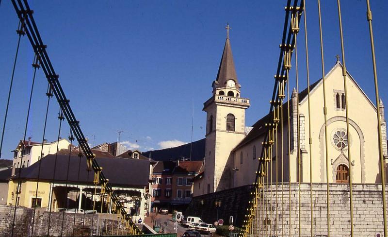 Eglise de Seyssel Haute-Savoie