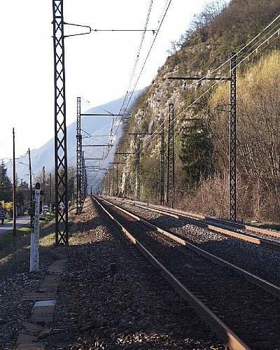 Gare de Vions - Chanaz