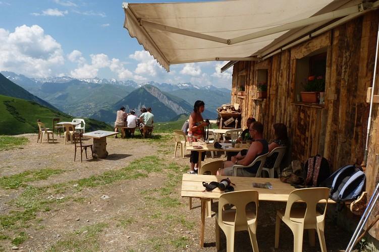 Le Chalet d'la Croë : restauration d'Alpage