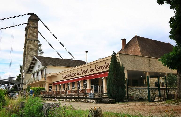L'Hostellerie du Port de Groslée