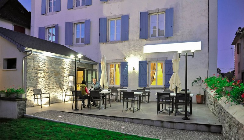 L'hôtel restaurant de la Poste