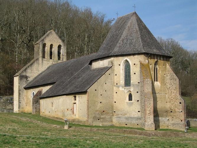 Eglise peinte Saint Michel de Montaner
