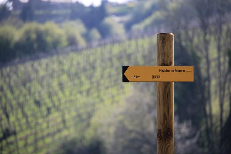 """Sentier de découverte """"Histoire de Monein"""""""