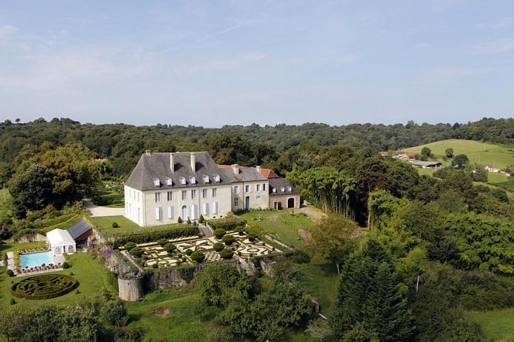 Jardins et dépendances du Château de Viven