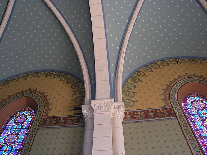 La Chapelle de Pigneux sur le Chemin de St Jacques de Compostelle
