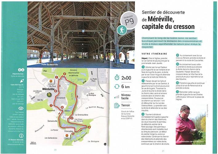 Méréville - Sentier de découverte de Méréville, capitale du Cresson