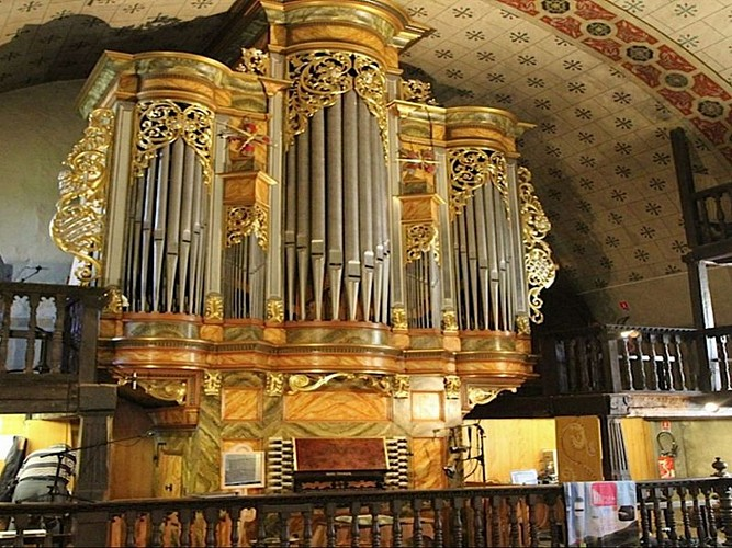 Visite de l'Orgue Rémy Mahler et de l'église