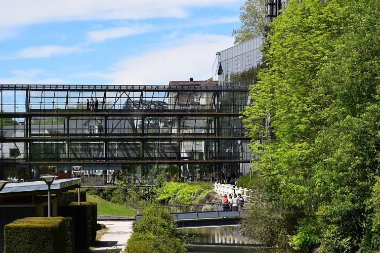 Les jardins contemporains de l'hôtel du département