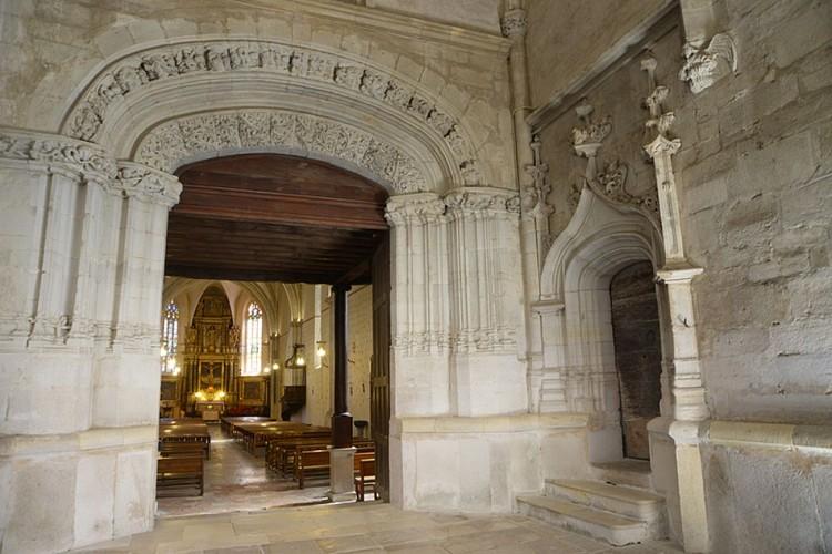 Eglise Saint Girons et sa charpente
